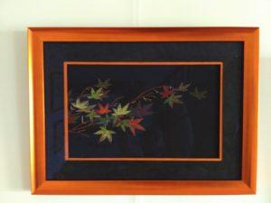 Autumn Leaves : ouvrage terminé